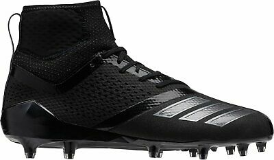 brand new 575e7 b0057 Adidas Adizero 5-Star 7.0 Mid Football Cleats Triple Black Out SZ 10 DB0405   120