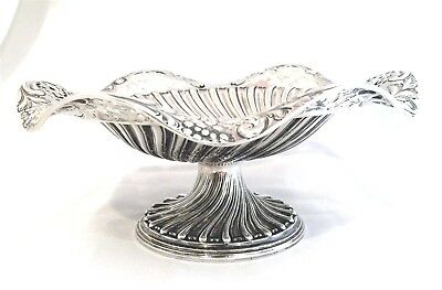 Antique Sterling Silver Victorian Tazza / Compote Mappin Bros 1893 No Mono