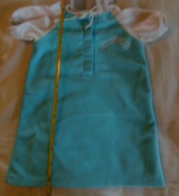 Cabbage Patch Kid CPK PREEMIE hooded nightgown clothes 12-14 in doll?? see pics