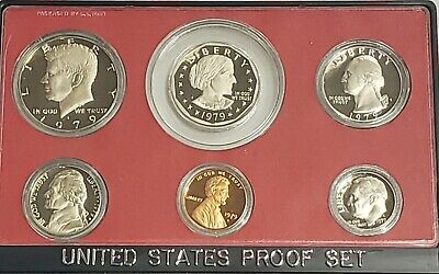 1979-S Proof Set in OGP with Type II Mintmarks