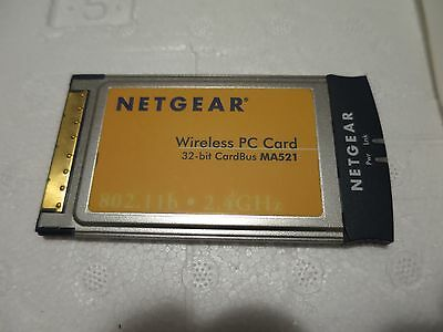 NETGEAR WIRELESS PC Card - WG511GE WG511 V2 2.4GHz 802.11g