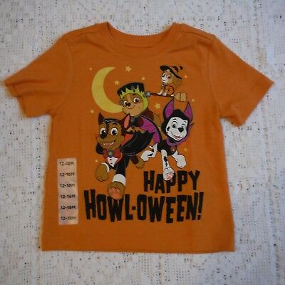 5eaa4bc8fd3 Orange Paw patrol shirt Boys size 12-18 months Old Navy Halloween new kids