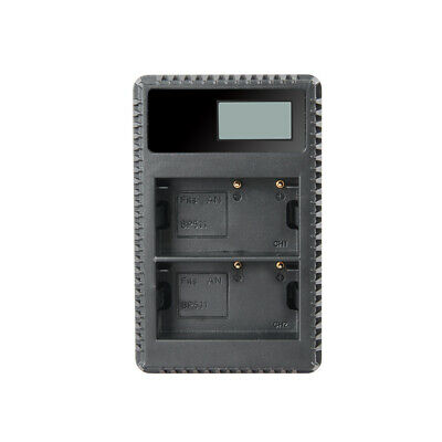 BP-511 BP511A Battery and LCD USB Dual Charger for EOS 40D 300D 5D 20D 30D T1