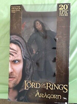 "Lord Of The Rings - Aragorn 20"" Mega Collectible NECA Figurine"