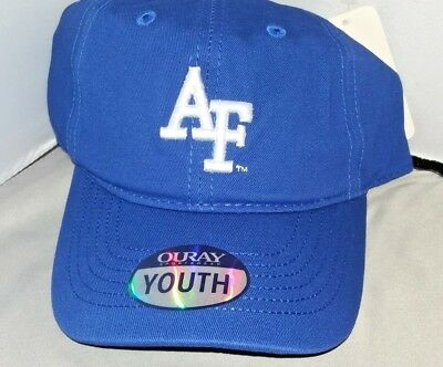 NIKE AIR FORCE Falcons NCAA Youth Adjustable Blue Performance Hat ... 2fc70e981c84
