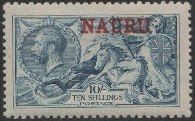 NAURU KGV Scott 15 SG23 Lightly Hinged