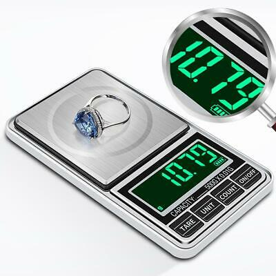 Mini  Portable 0.01g Digital Scale Jewelry Pocket Balance Gram LCD Herb Gold