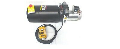 Hydraulic Power Pack 12 / 24Volt DC DOUBLE ACTING  5.0 LPM FREE POST AUSTRAILA