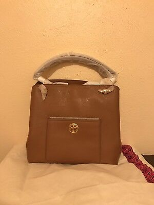 73ffa18821 NWT Tory Burch Chelsea Slouchy Tote cassic Tan 100% Authentic RSvp $498.00
