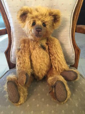 Manufactured Charlie Bears Mothball 2016 Isabelle Mohair Collection Free Us Ship