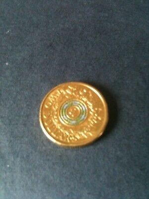 Two Dollar Australian 2017 Remembrance Day Coin Coloured Coin