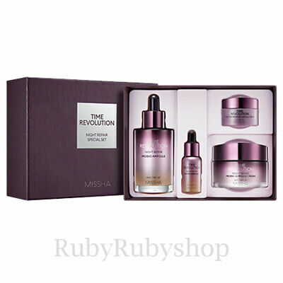 [MISSHA] Time Revolution Night Repair Special Set [RUBYRUBYSTORE]