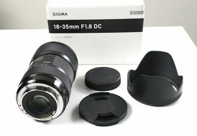 Sigma 18-35mm f/1.8 DC HSM Art Lens (New, Warranty)