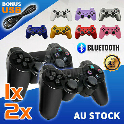 X1 X2 Dual Shock Wireless Bluetooth Controller for PS3 PlayStation 3 Gamepad
