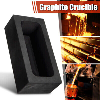 85oz High Purity Graphite Casting Ingot Mold for Gold & Silver Melting Refining