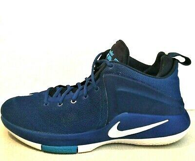 check out 03903 472a6 Nike Lebron Zoom Witness Royal Blue 852439-401 Basketball Shoes Men s Size  12.5