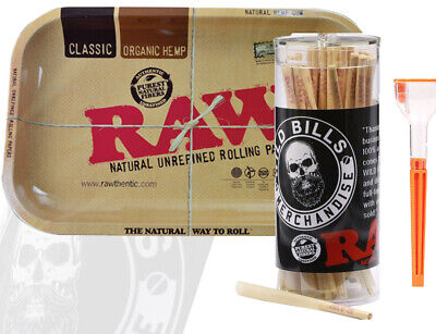 Raw Cones Pre Rolled 98 Speacial  50 Count W Raw Small Tray And Cone Artist
