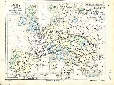 Carte Europe Charles Quint.1455 1558 Europe Charles Quint Charles V Holy Roman Empire Map Carte