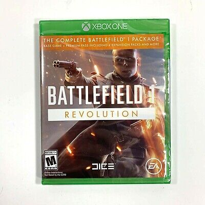 Battlefield 1 Revolution  Xbox One Brand New Sealed