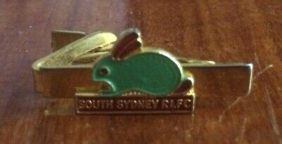 South Sydney Rabbitohs RLFC Rugby League Football Club Tie Clip