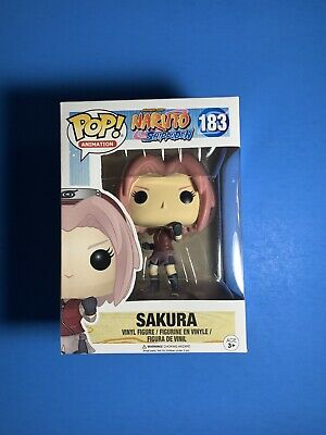 FUNKO POP Naruto Shippuden Sakura 183 MINT w PROTECTOR SAME DAY PRIORITY SHIP!