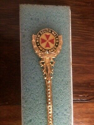 NSW New South Wales Ambulance Collector Spoon With Case