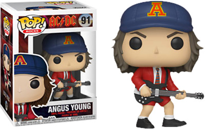 Funko Pop - AC/DC - Angus Young with Red Jacket - Funko Pop