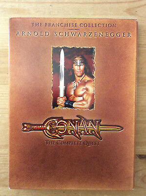 Conan: The Complete Quest, (DVD, Franchise Collection) *No Tax""
