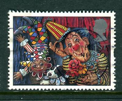 1995 GB 1st Circus Clowns Used. Greetings Stamp. Arts