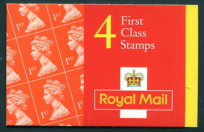 HB14 1999 4 x 1st FIRST CLASS RATE TO EUROPE NO LONGER VALID  Barcode GB Booklet