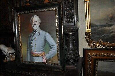 Museum Quality  General Robert E. Lee   Oil Painting