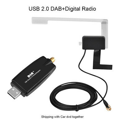 DAB+Digital Radio Tuner USB Stick for XTRONS Android Car DVD R8H6P Fast UK E7I9H