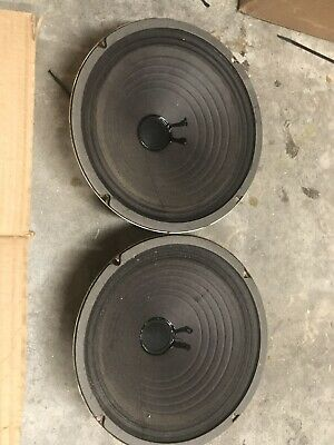"""vintage speakers 10"""" Pair 13Ohm. Tested And Works Perfect! Heavy Magnet"""