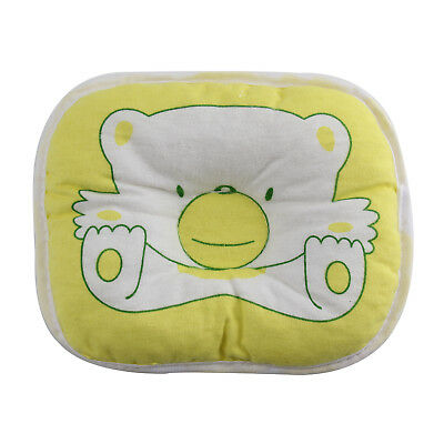 Infant Newborn Bear Printed Pillow Baby Support Cushion Pad Prevent Flat Head