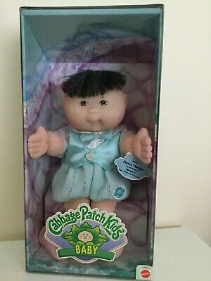 Cute Cabbage Patch Kids 'baby' Boy Doll 1995 - Never Removed From Box