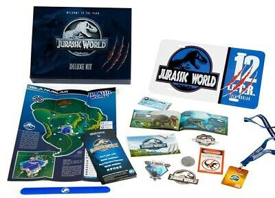 Jurassic World Figure Deluxe Kit Welcome to the Park