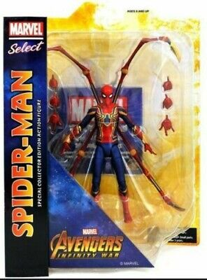 Avengers Infinity War Action Figure Marvel Select Iron Spider-Man