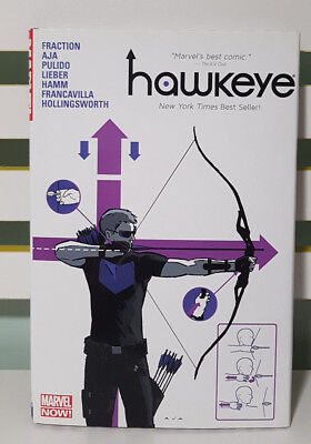 Hawkeye! Hardcover Marvel Graphic Novel Comic Book! Marvel Now!