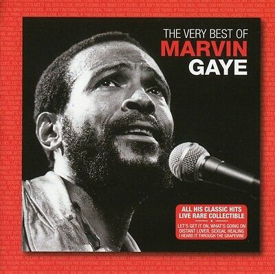 The Very Best Of Marvin Gaye (Live) [Brand New] Cd