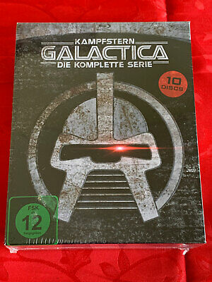 BATTLESTAR GALACTICA -The Complete Television Series Blu Ray 10 DISC, Region  B