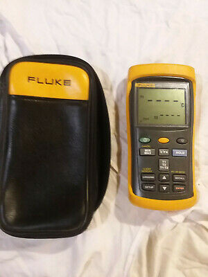 Fluke 54 II Dual Input Digital Thermometer GMP certified with case