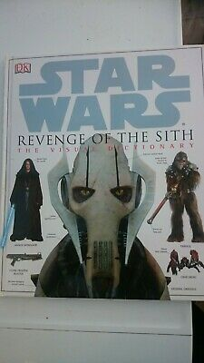 Star Wars Revenge of the Sith The Visual Dictionary DK Book