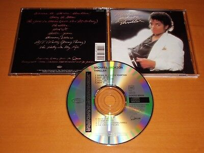 Michael Jackson Thriller Cd Austria