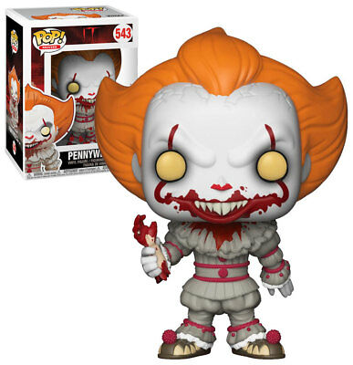 Funko - POP Movies Horror Vinyl Figure IT Pennywise with Boat a #543