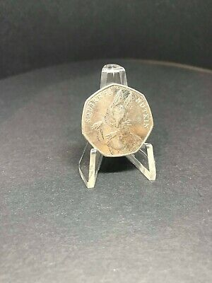 2016 Beatrix Potter Squirrel Nutkin UK 50p Fifty Pence