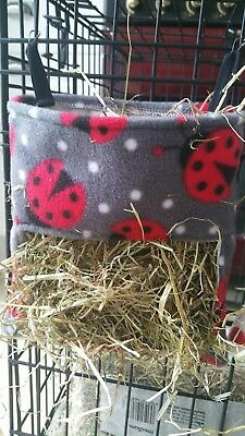 Fabric Haybag for Guinea pigs , Rabbits and other small pets