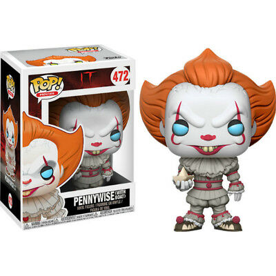 Funko - POP Movies Horror Vinyl Figure IT Pennywise with Boat a #472