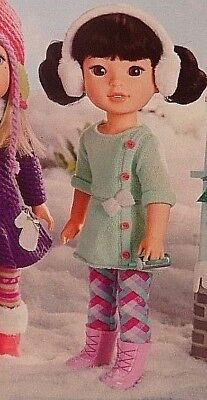 Ag/wellie Wishers So Much Fun In The Snow A Five Piece Outfit. Fits Any Ww Doll