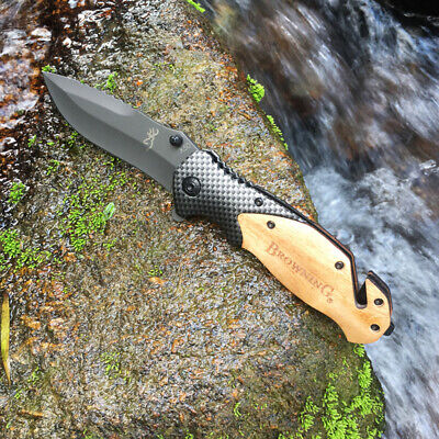 NEW Browning X50 Tactical Folding Pocket Knife Survival Camping Hunting Knives