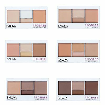 MUA Makeup Academy PRO_BASE Cover & Conceal Kit, Various Shades